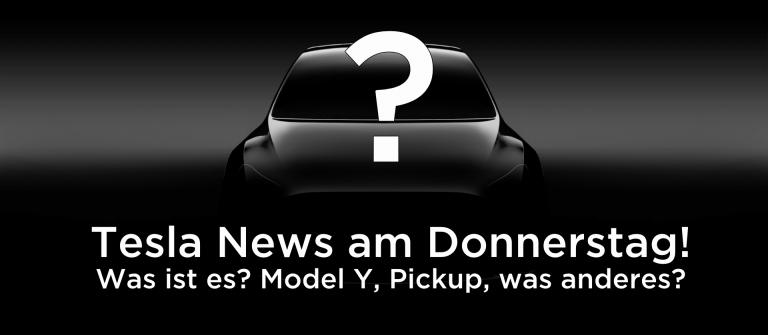 Tesla News am Donnerstag